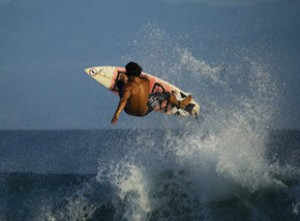 el anclote surfing frontside air surf puerto vallarta